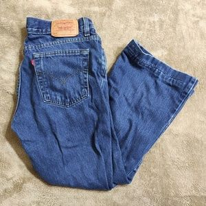 Levi's 518 Jeans Superlow Boot Cut Womens Jeans 9